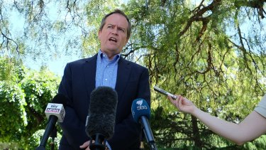 Opposition Leader Bill Shorten: His speech reflected a growing confidence.