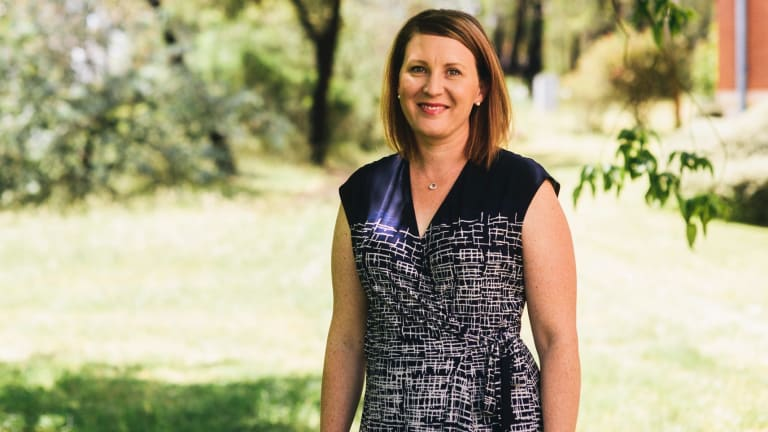 Andrea Gledhill coordinates the ACT's Connect Up 4 Kids program, a health service helping GPs teach parents to make sure their kids are eating healthily, reducing childhood obesity in Canberra.
