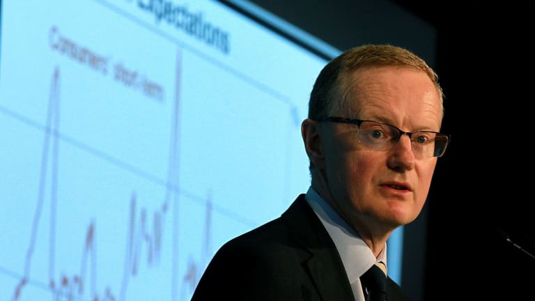 Pared down forecasts: RBA Governor Philip Lowe.