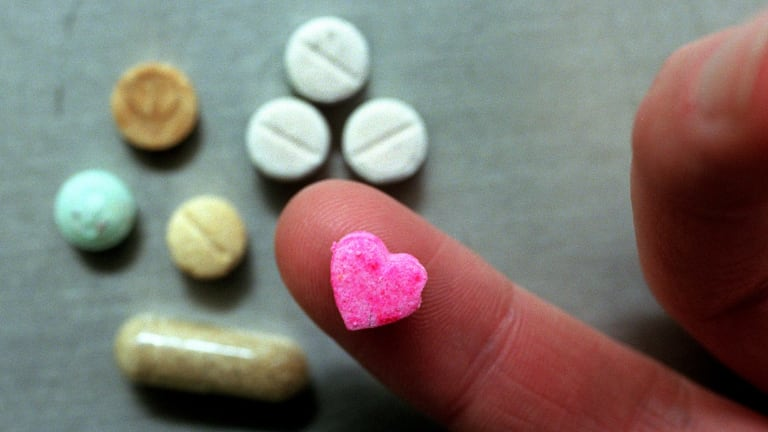 """""""The MDMA content in an ecstasy tablet can vary widely and new synthetic drugs are constantly appearing on the market,"""" Shane Rattenbury said."""