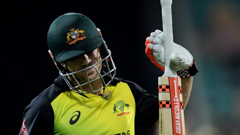 It's been a frustrating time for David Warner in T20s.