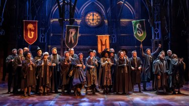 Producers of Harry Potter and the Cursed Child have asked the Victorian government to stop ticket scalping.