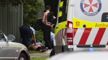 Mr Rees has been arrested after allegedly stabbing a man on Sunday.
