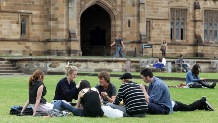 Sydney University is lobbying for a train station to be built at its Camperdown campus.