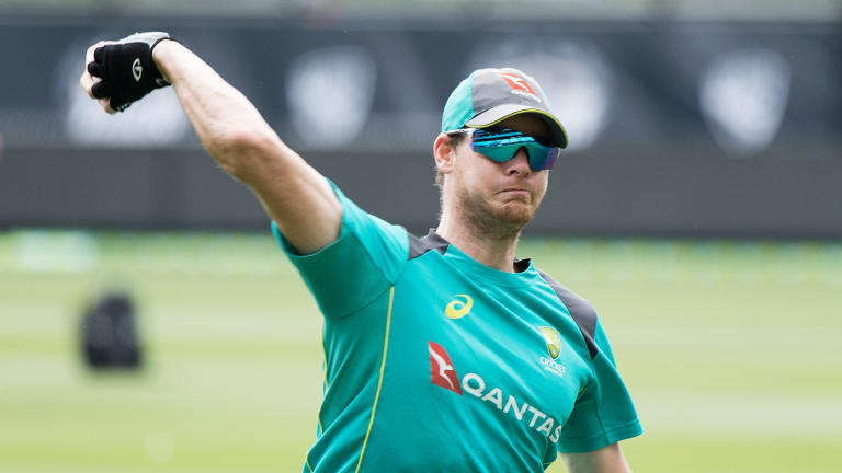 Consistent: Steve Smith is after a sharpened focus from his players.