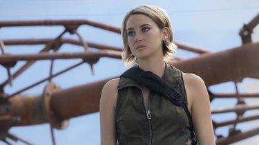 Shailene Woodley as Tris in <i>Allegiant</i>.