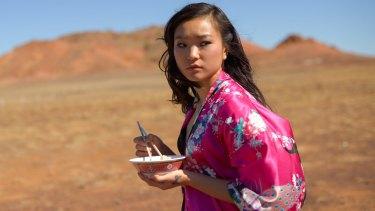 Outback tale ... Michelle Lim Davidson.