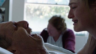 A scene from Go Gentle Australia's film, Stop the Horror.