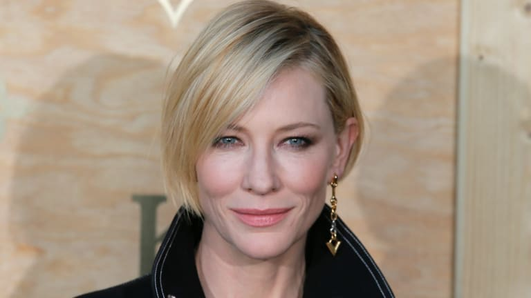 Honoured ... Cate Blanchett.