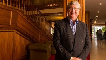 Greg Farrell at Country Club Tasmania.