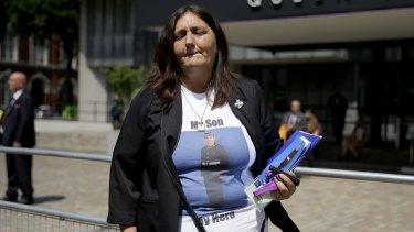 Rose Gentle's son Fusilier Gordon Gentle was killed in Iraq by a roadside bomb in 2004.