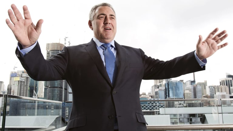 """We never put a date on returning to surplus"": Treasurer Joe Hockey."