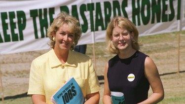 Cheryl Kernot and Natasha Stott Despoja.
