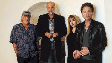 Legends: International rock act  Fleetwood Mac.