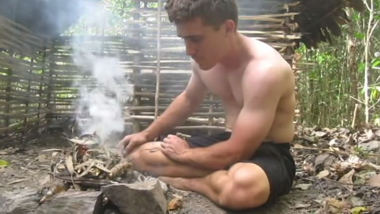 The mysterious star of YouTube's Primitive Technology series.
