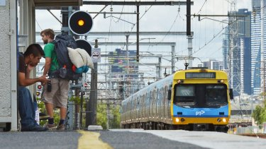Services on the Pakenham and Cranbourne lines have been partially suspended.