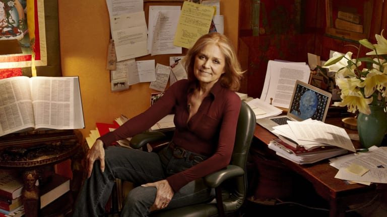 Gloria Steinem, pretty much the epitome of stylish cool.