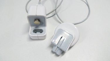 An affected wall adaptor from an iPad Mini 2.