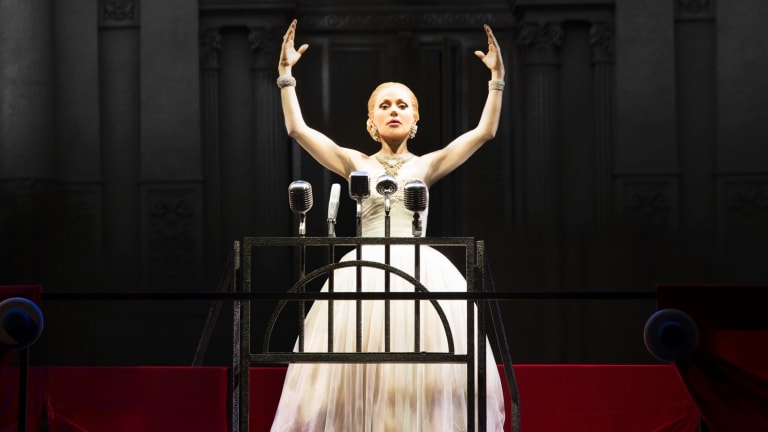 Oh, what a show: Tina Arena delivers the showstopper in Evita.