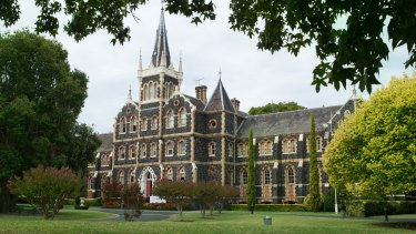 The Victorian College of The Deaf: Wesley College is also eyeing off the site.