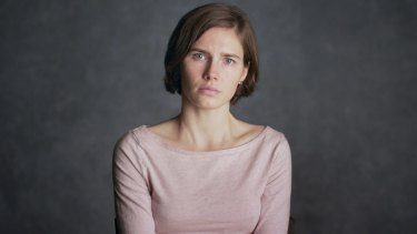 Amanda Knox, as featured in the new Netflix documentary.