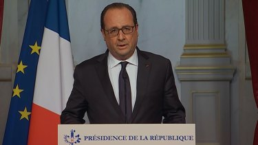 State of emergency: Francois Hollande declares the closing of France's borders.