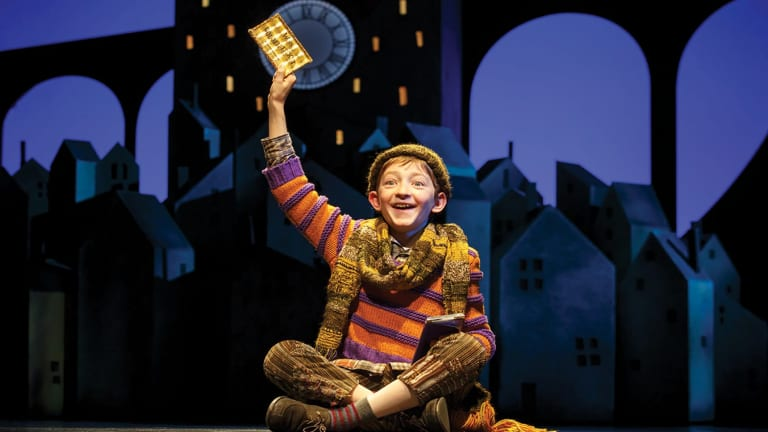 Monstrous acts become marvels of stagecraft in the musical incarnation of Charlie and the Chocolate Factory.