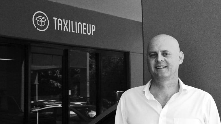 Anthony Lechner recently launched his Taxi LineUp app in Sydney and Melbourne.