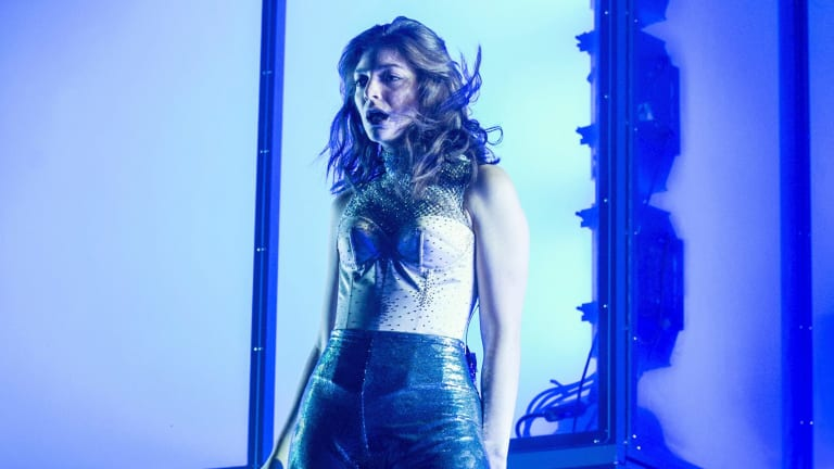 Lorde performing at Coachella in April 2017.