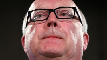 Attorney‐General George Brandis says the internet is not beyond the law.