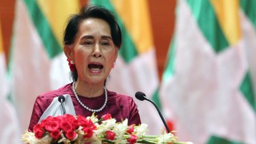 Myanmar's State Counsellor Aung San Suu Kyi has borne the brunt of international criticism for Myanmar's treatment of Rohingya.