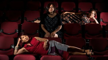 Annette Shun Wah, Joanne Kee and Paula Abood are launching a new theatre company, the National Theatre of Parramatta.
