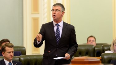 Shadow Minister for Education and Training Tim Mander has struggled to get traction against Minister Kate Jones, but remains a formidable contender for the LNP leadership.