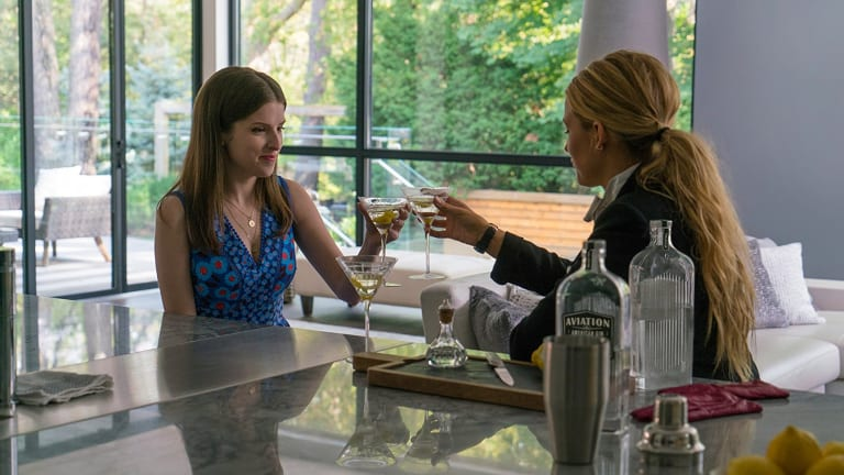 Anna Kendrick and Blake Lively in A Simple Favor.