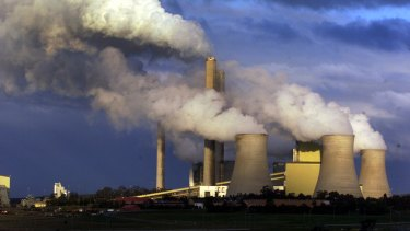 La Trobe Valley's Loy Yang coal-fired power station.