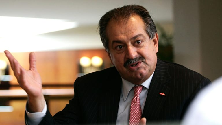 Andrew Liveris: the boy from Darwin is expected to be head of the merged $163 billion chemicals giant.