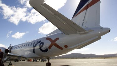 A Rex SAAB 340 will be used on the new route.