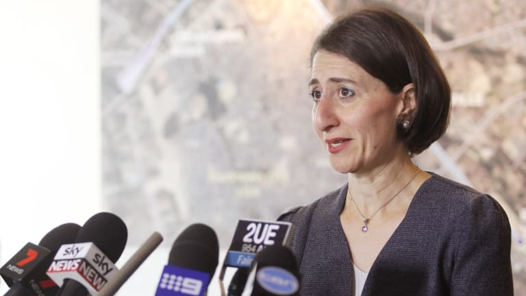 """""""The do-nothing scenario is simply not an option"""": NSW Transport Minister Gladys Berejiklian."""