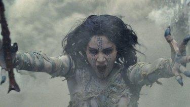 Sofia Boutella revisits Boris Karloff's menacing Mummy in the new Universal thriller.
