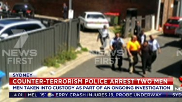 The teenagers were arrested in Bankstown on Wednesday.