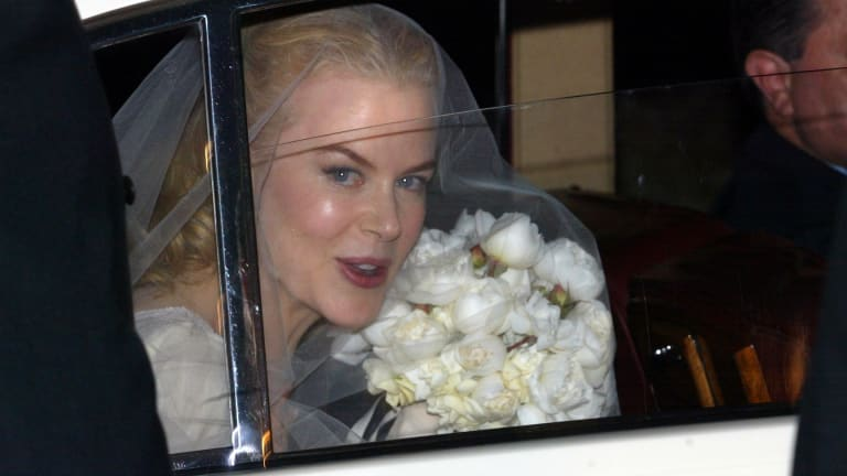 Nicole Kidman, Jesinta Franklin put wedding dresses on display at ...