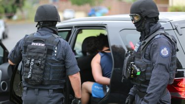Five people were arrested on Thursday morning by the Joint Counter Terrorism Team.