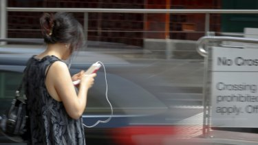 Don't walk: Police are cracking down on jaywalkers.
