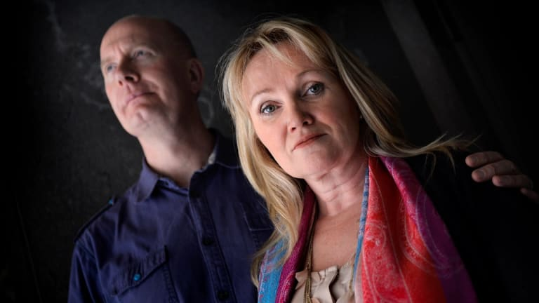 Pastors Christie Buckingham and husband Rob Buckingham who have been visiting death row inmates Myuran Sukumaran and Andrew Chan at Kerobokan prison in Bali.