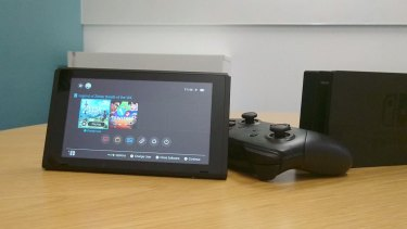 The Switch UI is simple but smart and very fast.