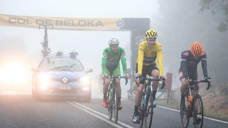 Four-time Tour de France winner Chris Froome rides L'Etape.