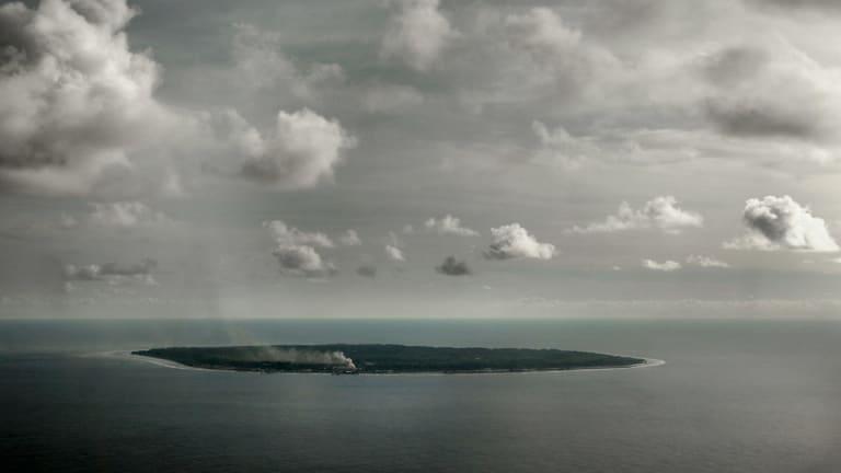 Isolated: The tiny nation of Nauru.