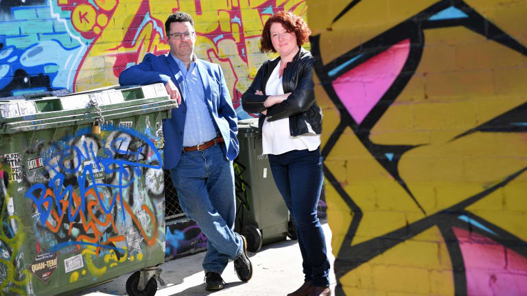 Authors Adrian McKinty and Jane Harper have been presented with Ned Kelly Awards by the Australian Crime Writers Association.