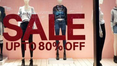 Significant discounting is hampering retailers.