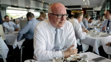 'I have not tried to be a celebrity the way that some politicians try to be a celebrity': Attorney-General George Brandis.